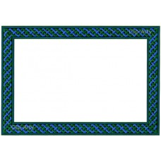 Celtic Border 4 - Green and Blue