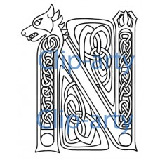 Celtic Capital N 3 - Drawing