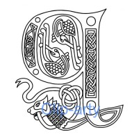 Celtic Capital Q - Drawing