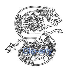 Celtic Capital S - Drawing