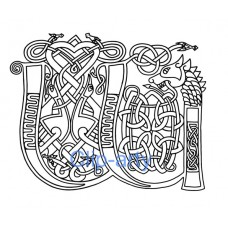 Celtic Capital W - Drawing