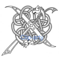 Celtic Capital X - Drawing