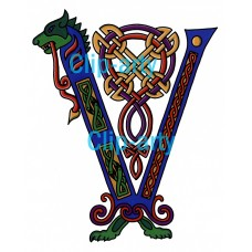 Celtic Capital V - Coloured