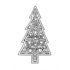 Celtic - Christmas Tree 1 - Drawing